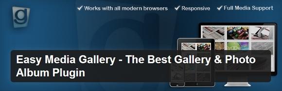 Easy Media Gallery - wordpress