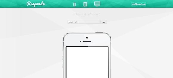 Respondr - responsive web design