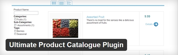 Ultimate Product Catalogue Plugin - top wordpress plugins