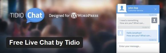 Free Live Chat by Tidio - web development