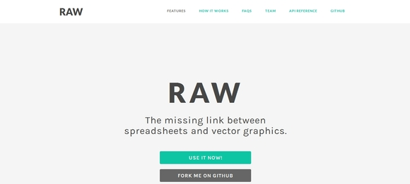 Raw - data visualization tools free