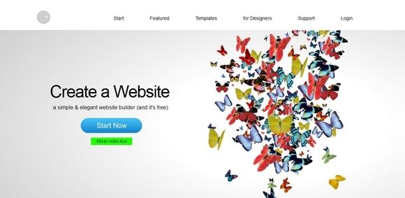 IMCreator - free website builder