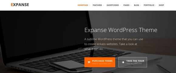 Expanse -  wordpress themes