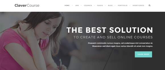 Clever Course - wp themes