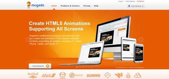 Mugeda - web designer