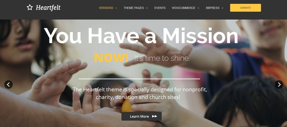 Heartfelt - premium wordpress themes