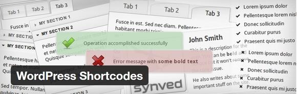 WordPress Shortcodes - wordpress plugins
