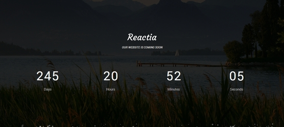 Reactia - Html5 templates