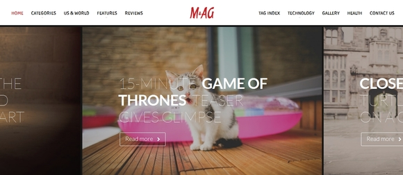 MAG - blog wordpress themes