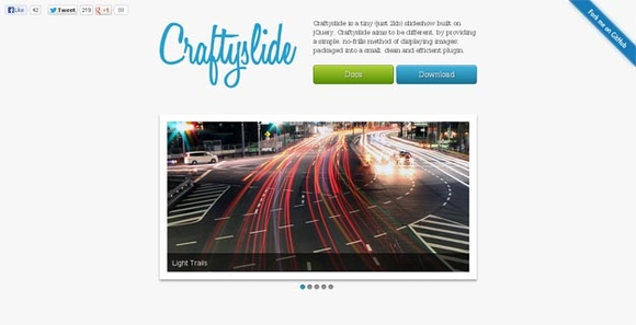 Craftyslide - jquery plugins