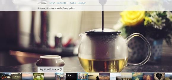 Fotorama - jquery image slider plugins