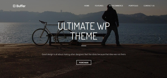 Buffer - wordpress responsive theme