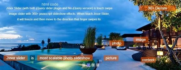 Jssor Slider - jquery image slider