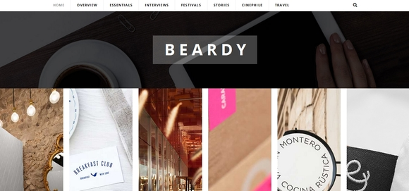 Beardy - wordpress magazine themes