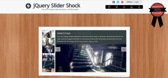jQuery Slider Shock - jquery