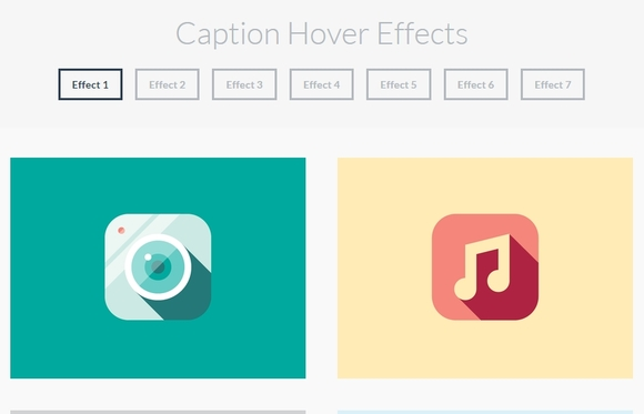 Caption Hover Effects - CSS3 tutorial