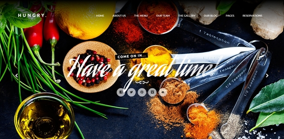 Hungry - Restaurant WordPress Theme