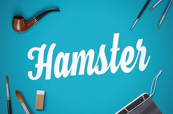 Hamster Script - web designer fonts