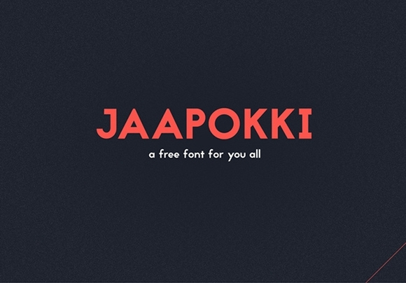 Jaapokki - free fonts