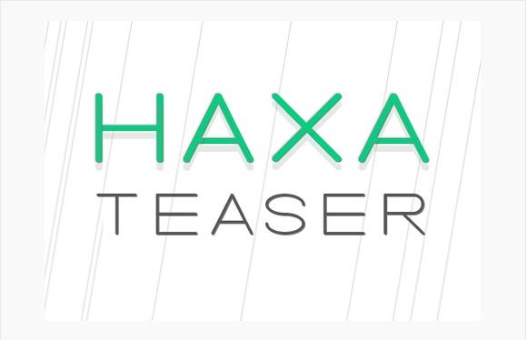 Haxa Teaser Font