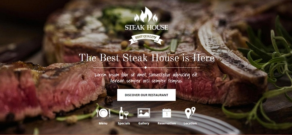 Steak House Food