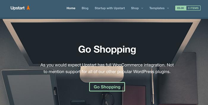 Upstart - Cheap WordPress Themes
