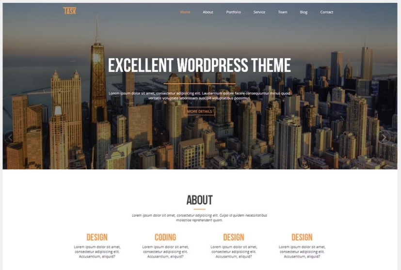 Business one theme