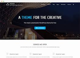 Alchemy free business wordpress theme