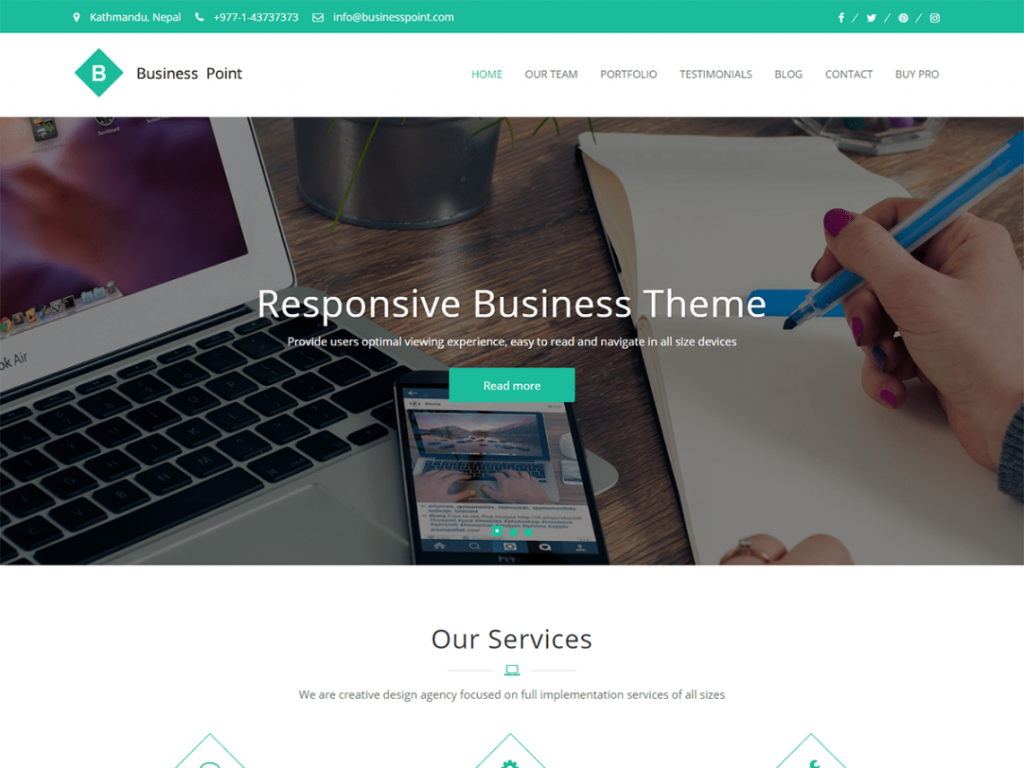 business point wordpress theme
