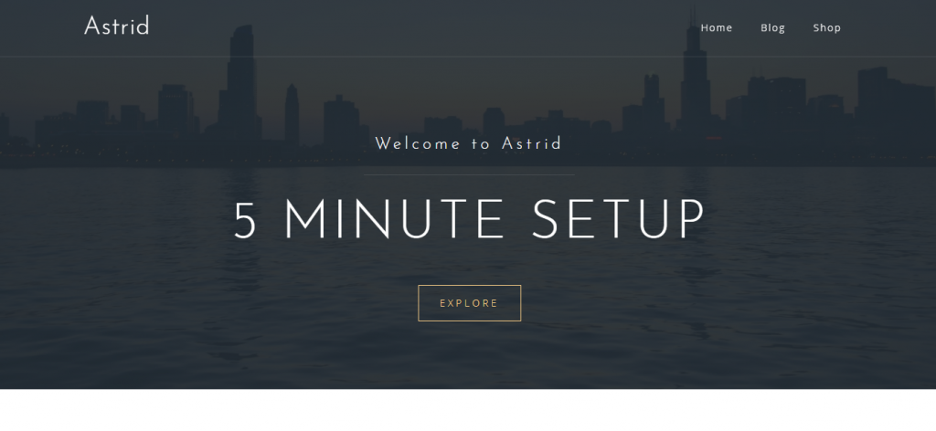 astrid wordpress theme