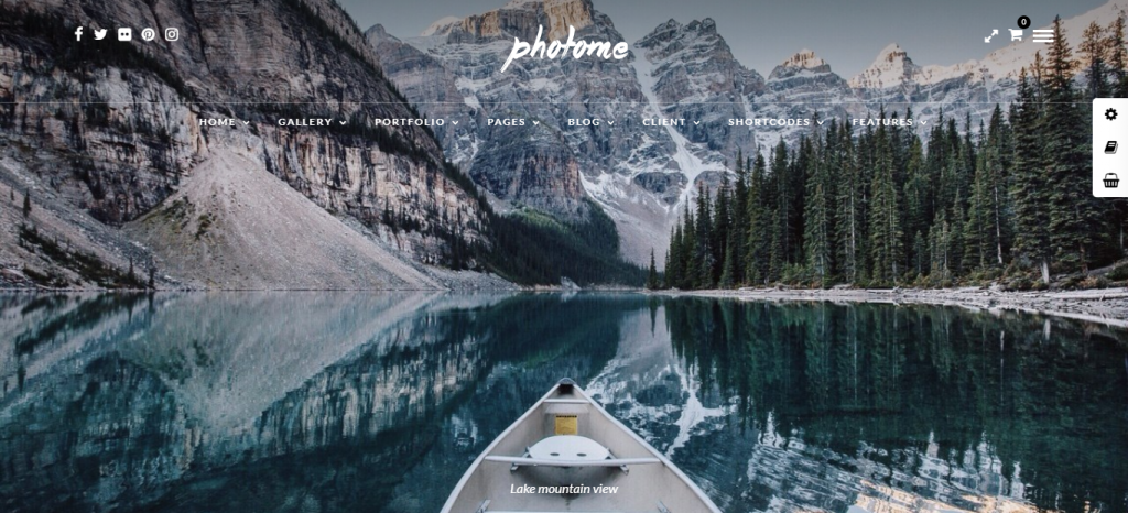 photo me wordpress theme