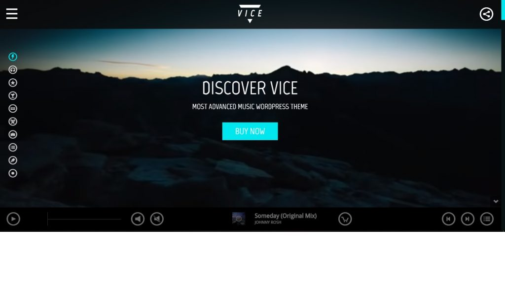 Vice WordPress theme