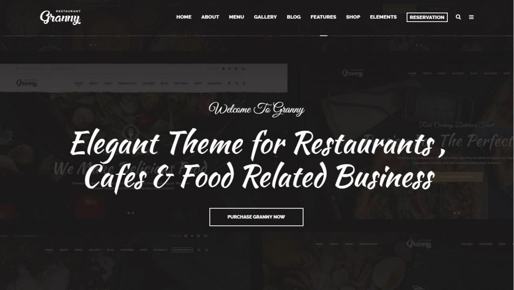 granny wordpress theme