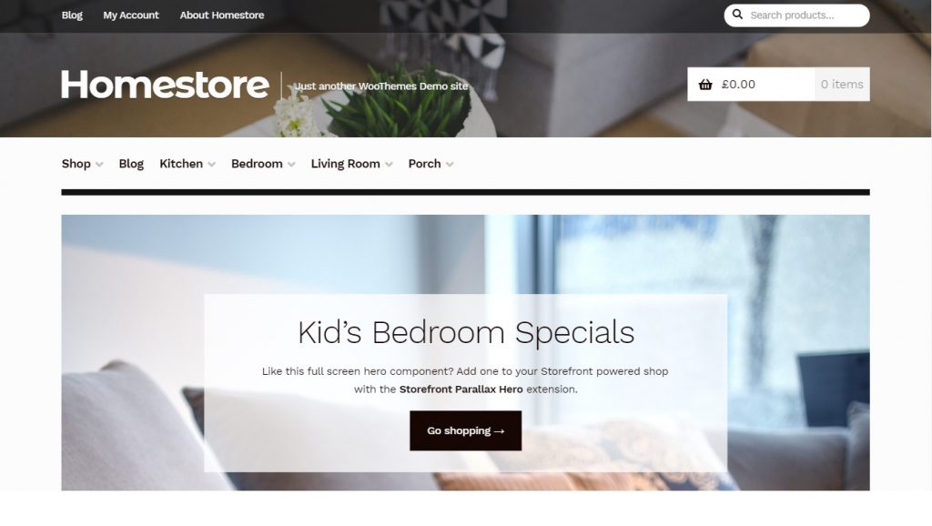 homestore wordpress theme