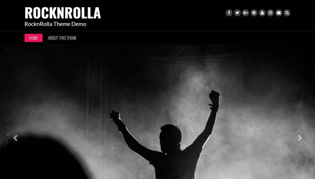 rocknrolla wordpress theme