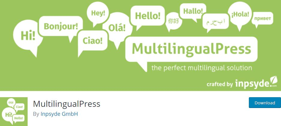 multilingualpress wordpress plugin