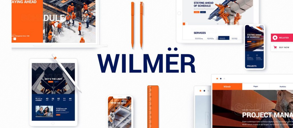 wilmer wordpress theme