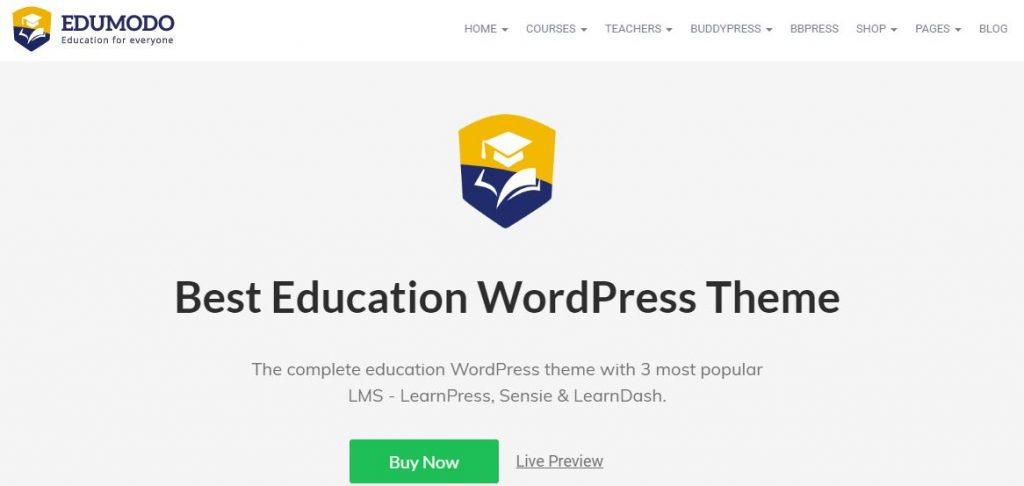 edumodo wordpress theme