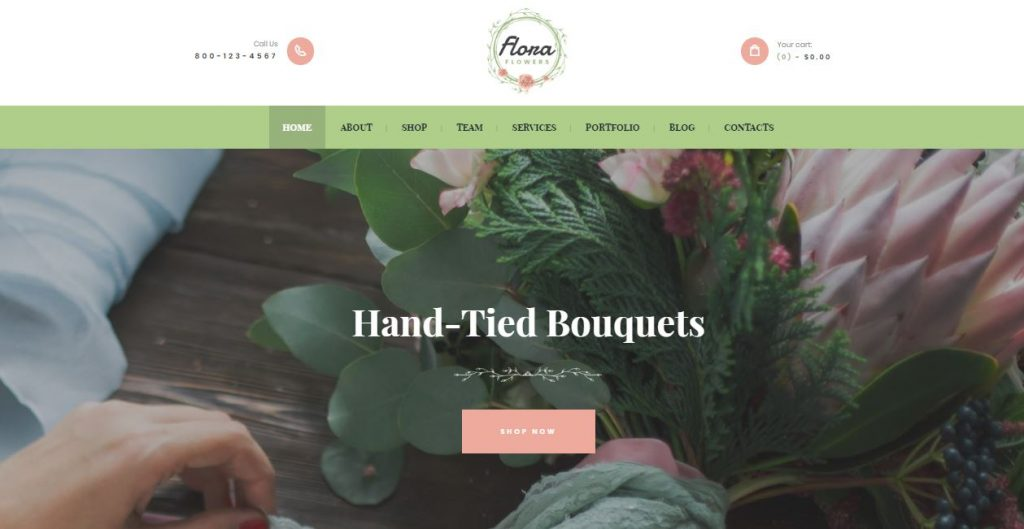 flora wordpress theme
