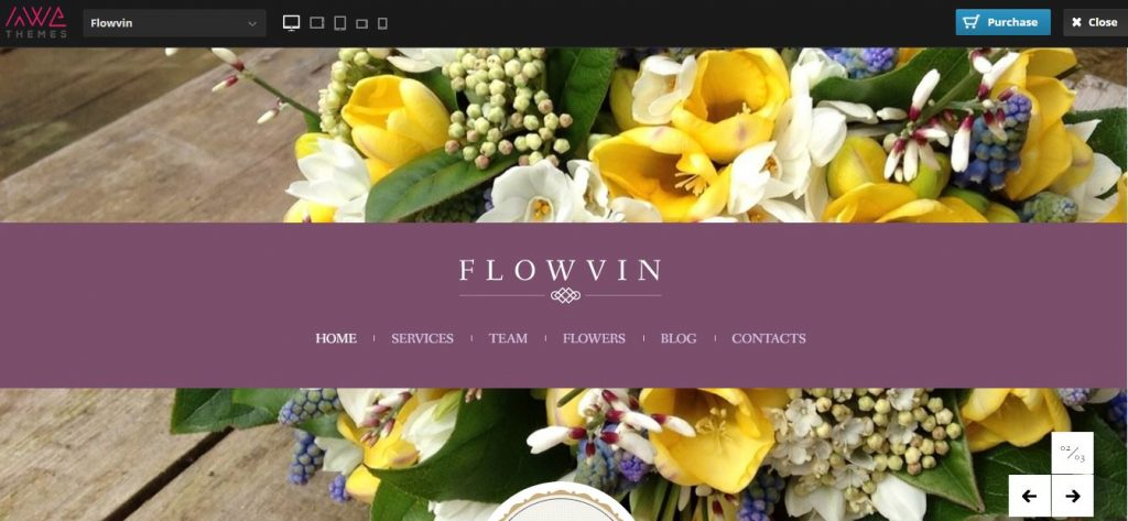 flowvin wordpress theme