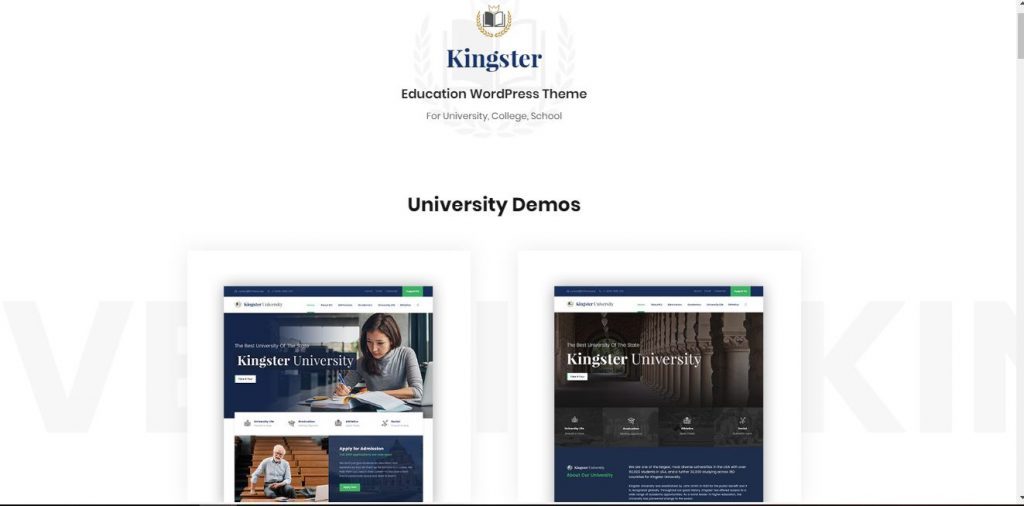 kingster wordpress theme
