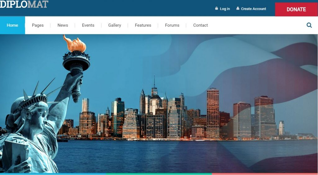 diplomat wordpress theme