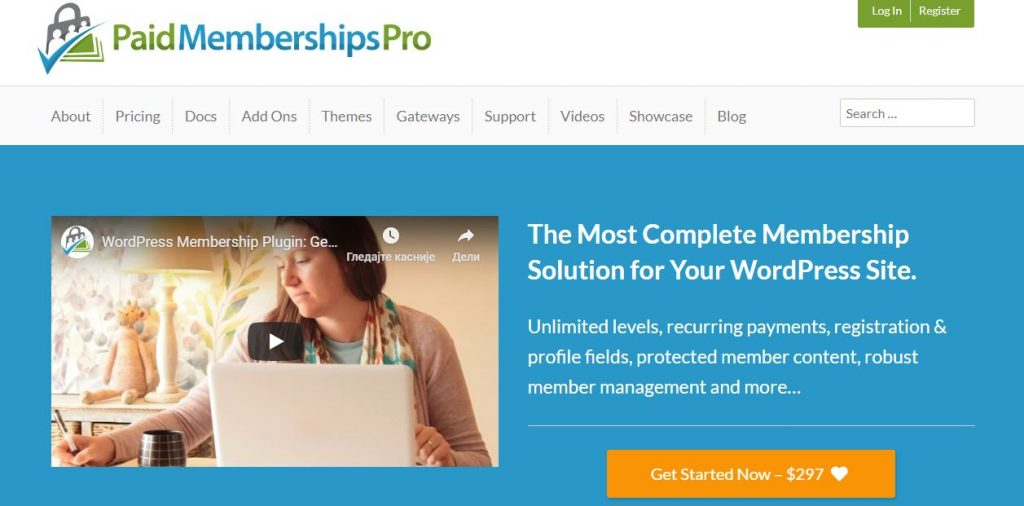 paid membership pro wordpress plugin