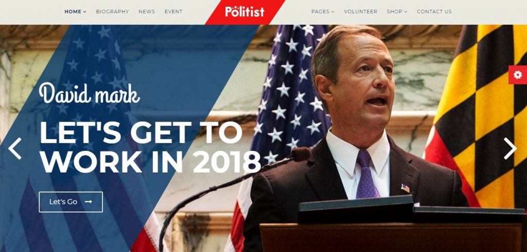 politist wordpress theme