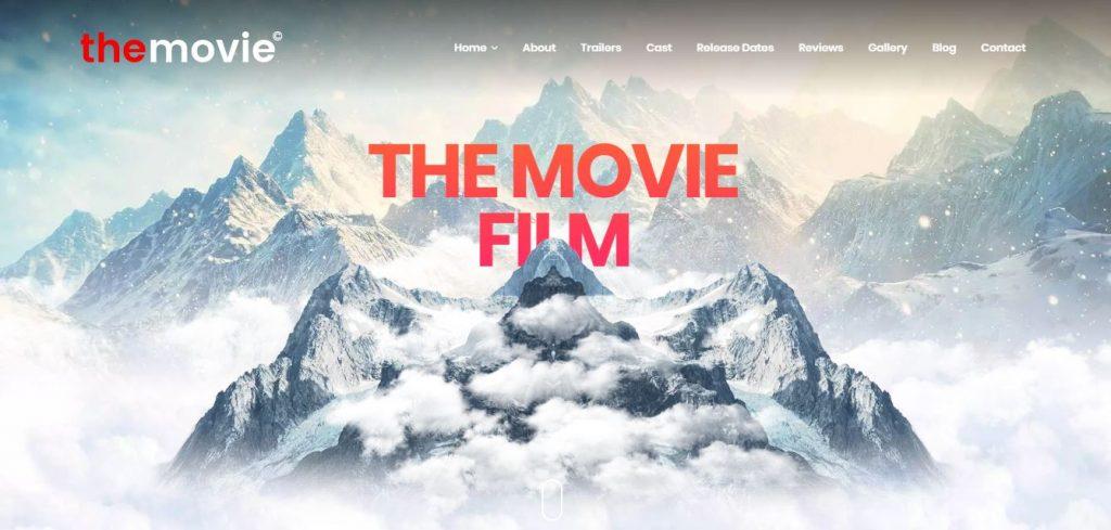 the movie wordpress theme