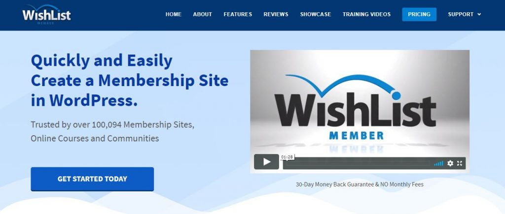 wishlist member wordpress plugin