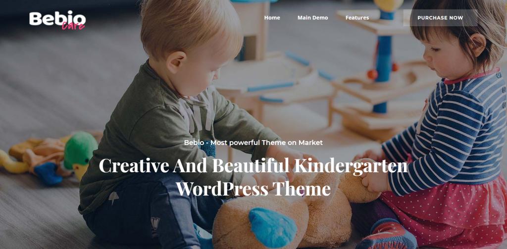 bebio wordpress theme