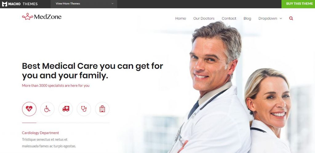 medzone wordpress theme
