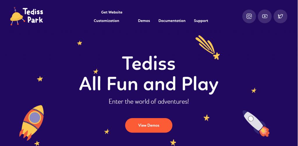 tediss wordpress theme