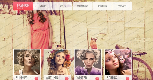 Apparel - bootstrap templates 2014